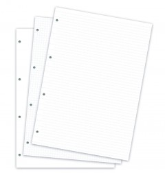 Clipbook A4 Notizpapier sortiert