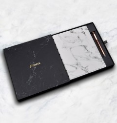 Filofax Notebook Patterns Marble A5 Geschenk Set