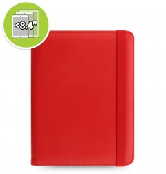 eniTAB360 Small Universal Tablet Case - Metropol Elastic Red