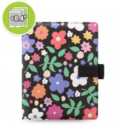 eniTAB360 Small Universal Tablet Case - Patterns Strap Floral