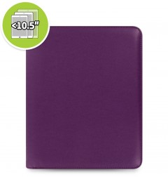 eniTAB360 Large Universal Tablet Case - Pennybridge Zip Purple