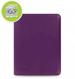 eniTAB360 Small Universal Tablet Case - Pennybridge Zip Purple
