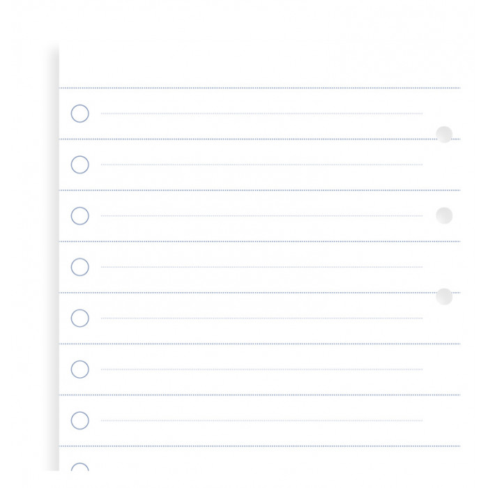 Clipbook Checklist