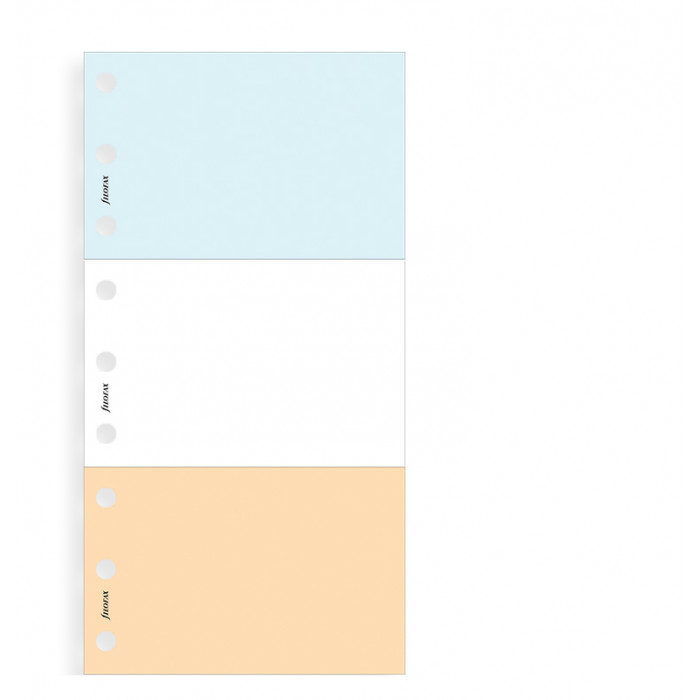 Jot Pads (White, Blue, Salmon)