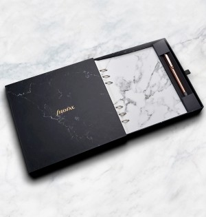 Architexture Marble A5 Clipbook Geschenk Set