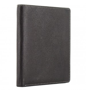 Malden Portrait Wallet Black