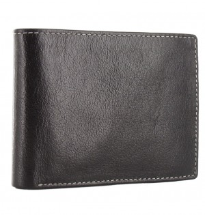 Malden Small Wallet Black