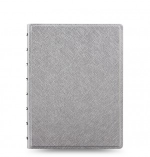 Filofax Notebook Saffiano Metallic A5